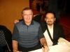 L\'autore con Dick Gordon