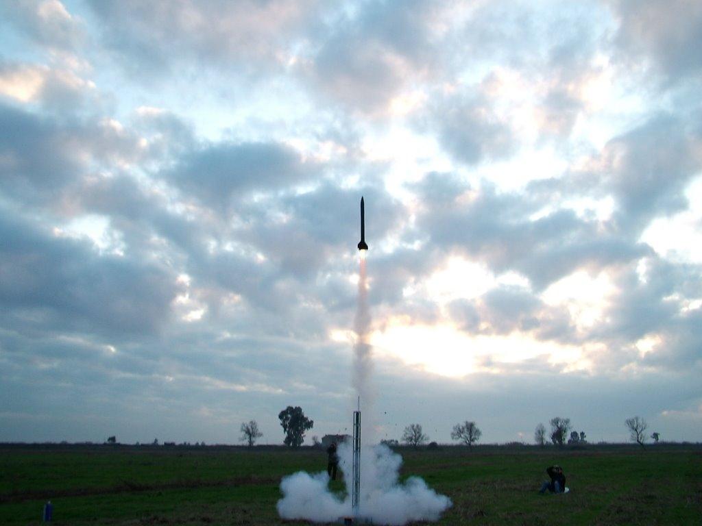 Veter75 lift-off